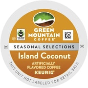 Keurig® K-Cup® Green Mountain® Island Coconut Coffee, Regular, 96/Carton (6720)