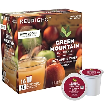 Keurig® K-Cup® Green Mountain Naturals® Hot Apple Cider, 16 Pack