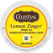 Celestial Seasonings® Lemon Zinger® Herbal Tea K-Cups®, 96/Carton (14732)