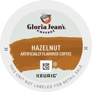 Gloria Jean's® Hazelnut Coffee K-Cups®, 96/Carton (DIE-60051052)