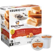 Gloria Jean's® Butter Toffee, Regular Keurig® K-Cup® Pods, 18 Count