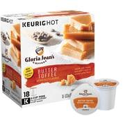 Gloria Jean's® Butter Toffee, Regular Keurig® K-Cup® Pods, 18 Count