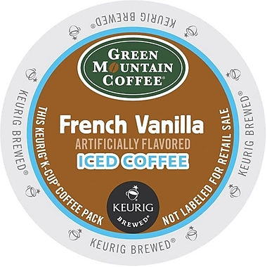 Keurig® K-Cup® Green Mountain® French Vanilla Iced Coffee, Regular, 22/Pack