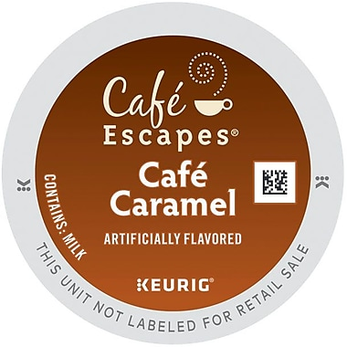 Keurig® K-Cup® Cafe Escapes™ Cafe Caramel, 24/Pack