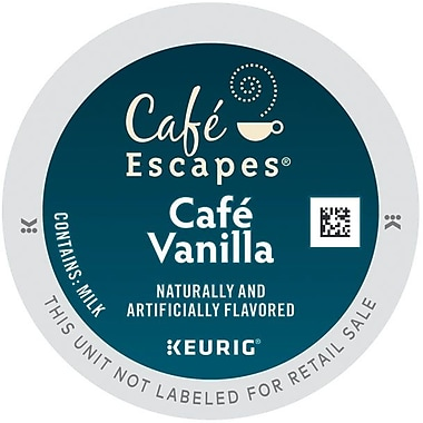 Keurig® K-Cup® Cafe Escapes® Cafe Vanilla, 24/Pack