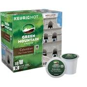 Keurig® K-Cup® Green Mountain® Colombian Fair Trade Coffee, Regular, 18 Pack