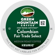 Green Mountain Coffee® Colombian Fair Trade Select Coffee K-Cup® Packs, 96/Carton