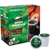 Green Mountain Coffee® Classic Donut Blend, Regular Keurig® K-Cup® Pods, 18 Count