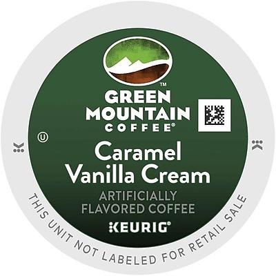 Keurig K-Cup Green Mountain Caramel Vanilla Cream Coffee, Regular, 96 Pack 865956