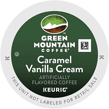 Keurig® K-Cup® Green Mountain® Caramel Vanilla Cream Coffee, Regular, 24 Pack