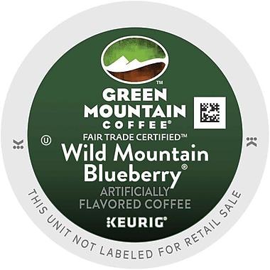 Keurig® K-Cup® Green Mountain® Wild Mountain Blueberry Coffee, Regular, 24/Pack