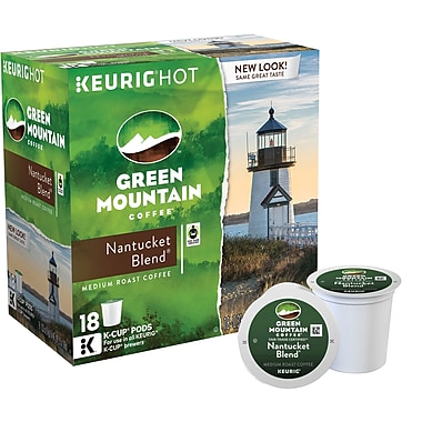 Keurig® K-Cup® Green Mountain® Nantucket Blend Coffee, Regular, 18 Pack