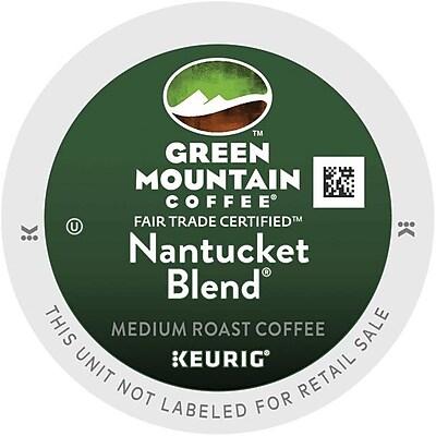 Green Mountain Coffee Nantucket Blend Keurig K-Cup pods 72 ct 2488663