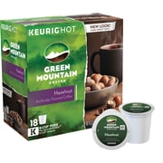 Keurig® K-Cup® Green Mountain® Hazelnut Coffee, 18 Pack
