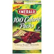 Emerald® 100 Calorie Pack Dark Chocolate Cocoa Roast Almonds, .62 oz. Packs, 7 Packs/Box