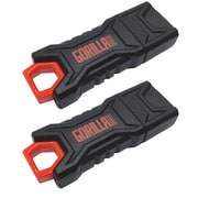 EP Staples GorillaDrive 128GB Rugged USB Flash Drive 2-Pack