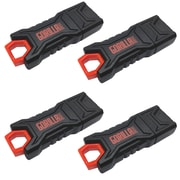 EP Staples GorillaDrive 8GB Rugged USB Flash Drive 4-Pack