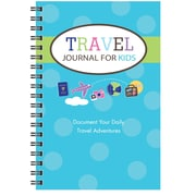 """Kahootie Co™ Travel Journal for Kids, 6"""" x 9"""", Teal (TJ01)"""