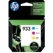 HP 933 C/M/Y Color Ink Cartridges (N9H56FN#140), Combo 3/Pack