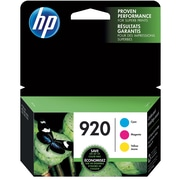 HP 920 C/M/Y Color Ink Cartridges (N9H55FN#140), Combo 3/Pack