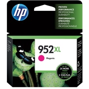HP 952XL Magenta Ink Cartridge, High Yield (L0S64AN#140)