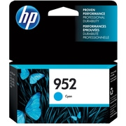 HP 952 Cyan Ink Cartridge (L0S49AN#140)