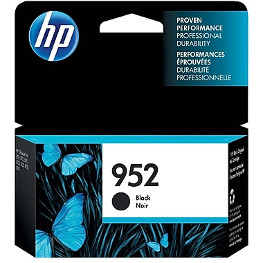 HP 952 Cartouche d'encre noire d'origine (F6U15AN)