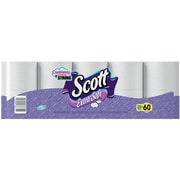 Scott® Extra Soft Mega Bath Tissue Rolls, 1-Ply, 60 Rolls/Case (36374)