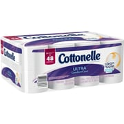 Kleenex® Cottonelle® Ultra Comfort Clean Care* Bath Tissue, 1-Ply, Double Roll, 24/Pack (38579)