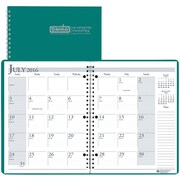"2016-2017 House of Doolittle, Academic Monthly Planner, 8.5"" x 11"", Bright Green, (26309-17)"