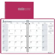 "2016-2017 House of Doolittle, Academic Monthly Planner, 8.5"" x 11"", Dark Pink, (26305-17)"