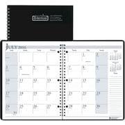 "2016-2017 House of Doolittle, Academic Monthly Planner, 8.5"" x 11"", Black, (26302-17)"
