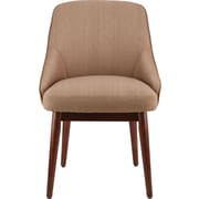 Staples Chetman Fabric Mid-Back Guest Chair, Tan