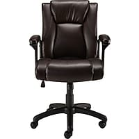 Staples Bristone Luxura Managers Chair (Brown / Black)