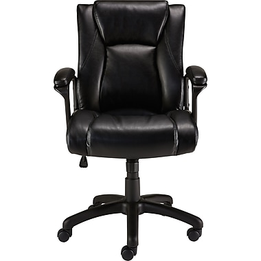 Staples Bristone Luxura Managers Chair Black Staples 174