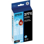 Epson T277XL Light Cyan Ink Cartridge, (T277XL520-S), High Yield