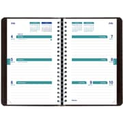 July 2016 - July 2017, Brownline® Weekly Academic Planner, 8 x 5, Black (CA101.BLK)