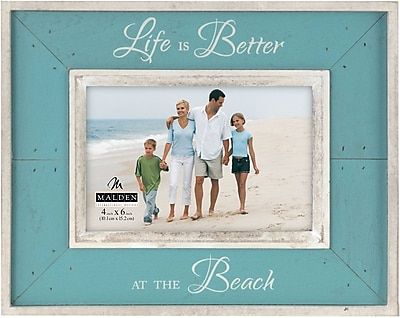 Malden Life is Better at The Beach Frame 1961731