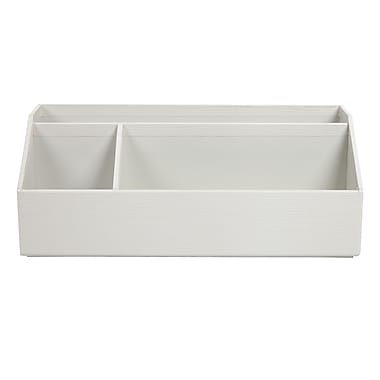 Office by martha stewart stack fit desk organizer white - Desk organizer white ...