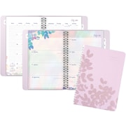 "2016-2017 AT-A-GLANCE® Aura Blooms Academic Weekly/Monthly Planner, 12 Months, July Start, 4 7/8"" x 8"", Lavender (585-200A)"