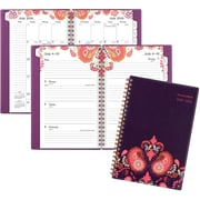 """2016-2017 AT-A-GLANCE® Sugar Plum Academic Weekly/Monthly Planner, 12 Months, July Start, 4 7/8"""" x 8"""", Purple (186-200A)"""
