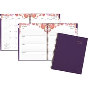 "2016-2017 AT-A-GLANCE® Sugar Plum Academic Weekly/Monthly Planner, 12 Months, July Start, 8 1/2"" x 11"", Purple (186-200A)"