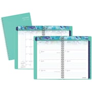 "2016-2017 AT-A-GLANCE® Jannelle Academic Weekly/Monthly Planner, 12 Months, July Start, 4 7/8"" x 8"", Teal (199-200A)"