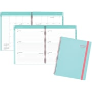 "2016-2017 AT-A-GLANCE® Color Play Academic Weekly/Monthly Planner, 12 Months, July Start, 8 1/2"" x 11"", Teal/Red (895-905A-42)"