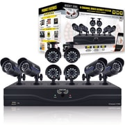 Night Owl Full Color Refurbished 8-Ch 960H DVR with 500GB HDD and 8x480 TVL Cameras