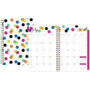 "2016-2017 Ampersand for Blue Sky ""Dots"" 5 x 8 Weekly/Monthly Planner (18777)"