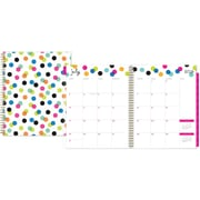 "2016-2017 Ampersand for Blue Sky ""Dots"" 8.5 x 11 Weekly/Monthly Planner (18776)"