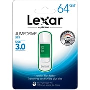 Lexar S75 64GB 3.0 White and Green (LJDS75-64GABNL)