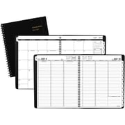 "2016-2017 AT-A-GLANCE® Weekly/Monthly Academic Appointment Book/Planner, 12 Months, July Start, 9 1/8"" x 11"", Black (70957E05)"
