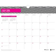 "2016-2017 Ampersand for Blue Sky ""Stripe"" 15 x 12 Monthly Wall Calendar (18784)"